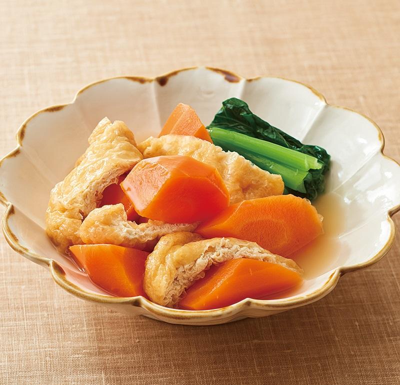 時短DE野菜 にんじん調理例